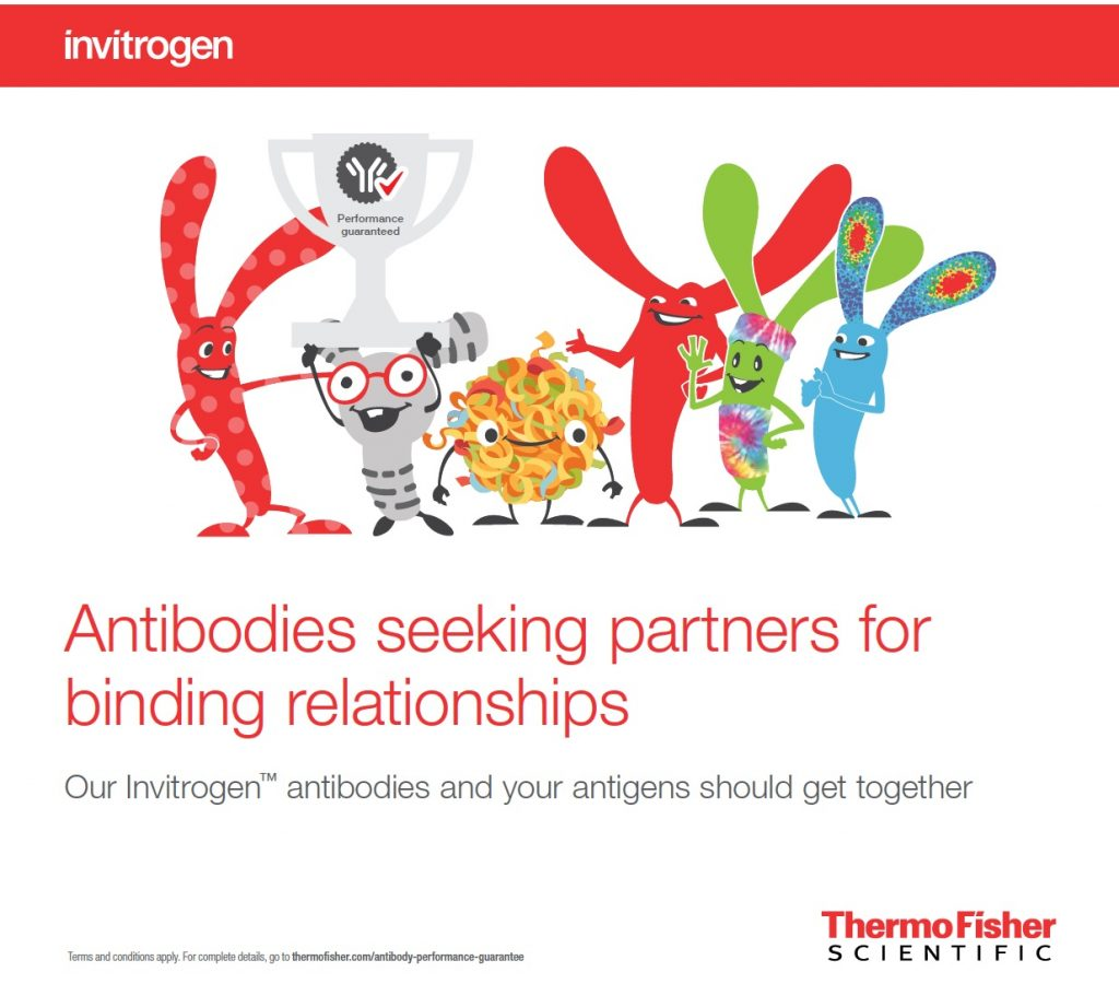 Image from an antibodies campaign from life sciences copywriter David Klowden's portfolio.